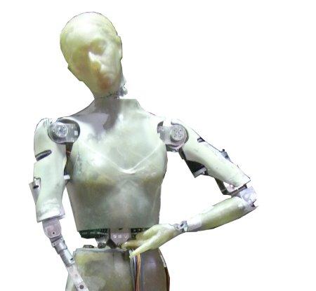 Unpainted Robot Coppelia