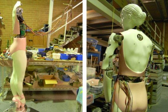 Building Robots in the Studio